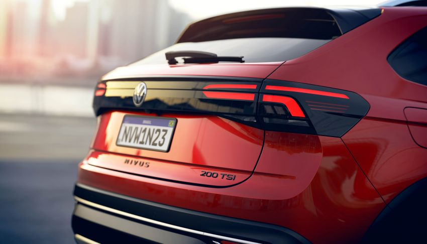 2021 Volkswagen Nivus debuts – compact 'SUV coupe' on sale in Brazil next month, Europe next year Image #1123462