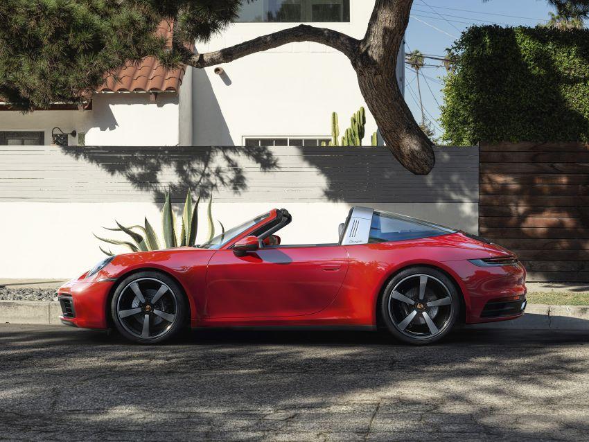 992 Porsche 911 Targa: new droptop sports car shown Image #1119015
