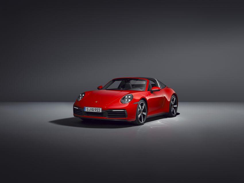 992 Porsche 911 Targa: new droptop sports car shown Image #1119024