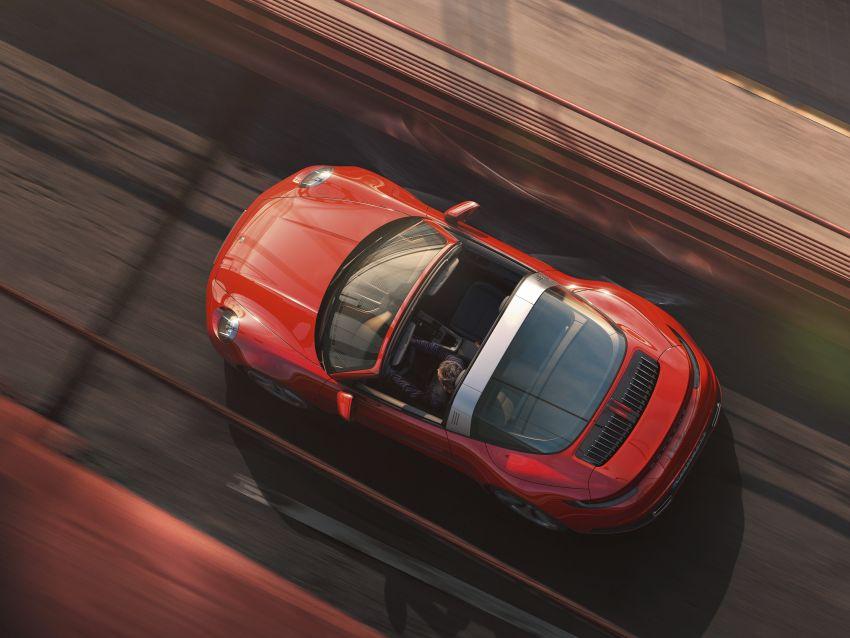 992 Porsche 911 Targa: new droptop sports car shown Image #1119016