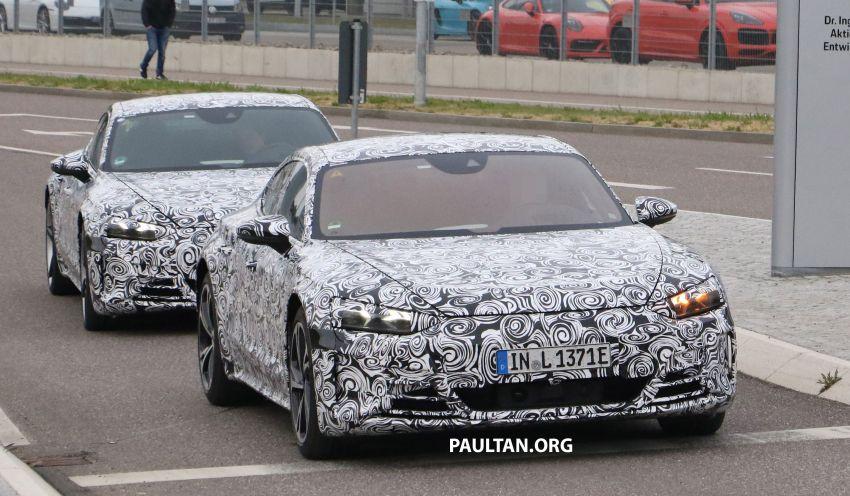 SPYSHOTS: Audi e-tron GT spotted road testing again Image #1121186