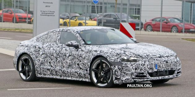 SPYSHOTS: Audi e-tron GT spotted road testing again - Paul ...