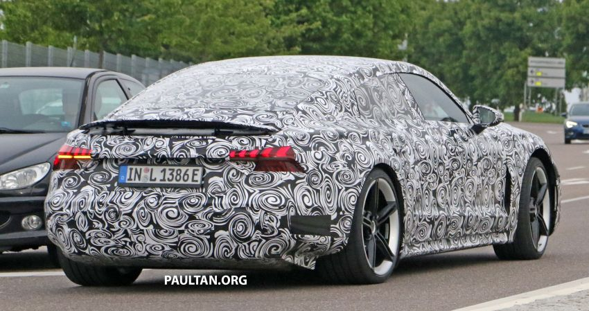SPYSHOTS: Audi e-tron GT spotted road testing again Image #1121168