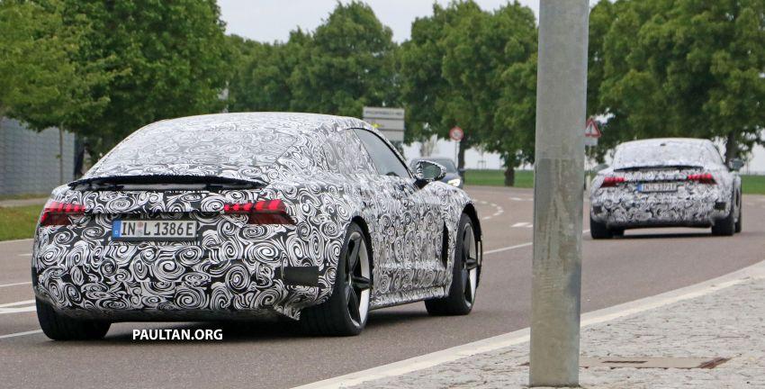 SPYSHOTS: Audi e-tron GT spotted road testing again Image #1121166