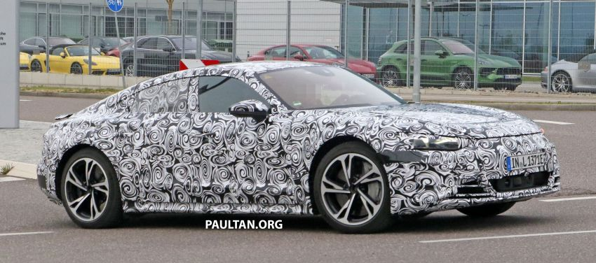 SPYSHOTS: Audi e-tron GT spotted road testing again Image #1121180