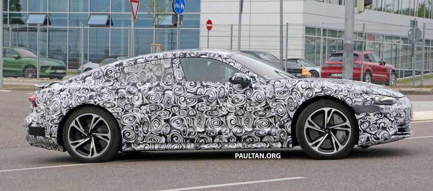 SPYSHOTS: Audi e-tron GT spotted road testing again Image #1121178