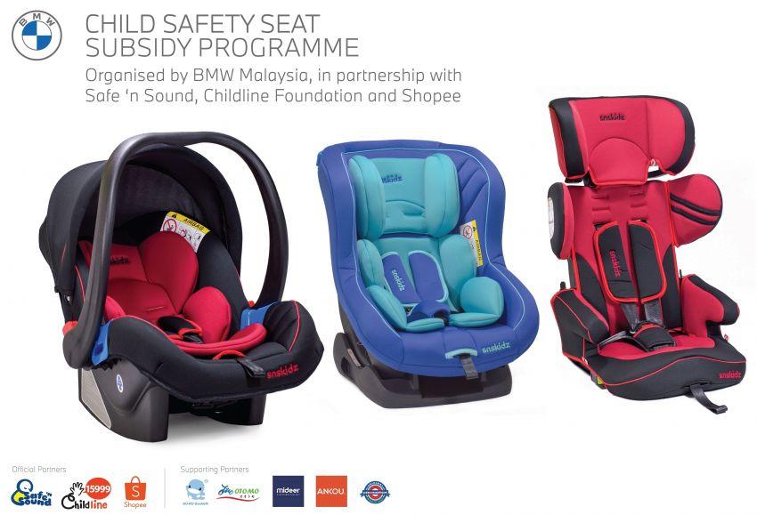 BMW Malaysia menawarkan kerusi keselamatan kanak-kanak lebih murah di Shopee untuk ibubapa B40 Image #1120914