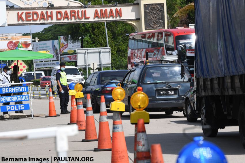 CMCO: Interstate travellers will now be fined, not just forced to U-turn; Raya travels will not be authorised Image #1121237