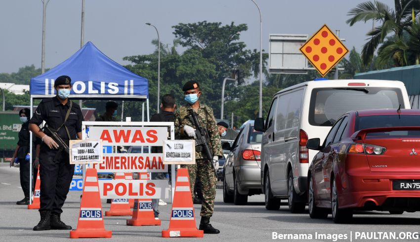 CMCO: Interstate travellers will now be fined, not just forced to U-turn; Raya travels will not be authorised Image #1121242