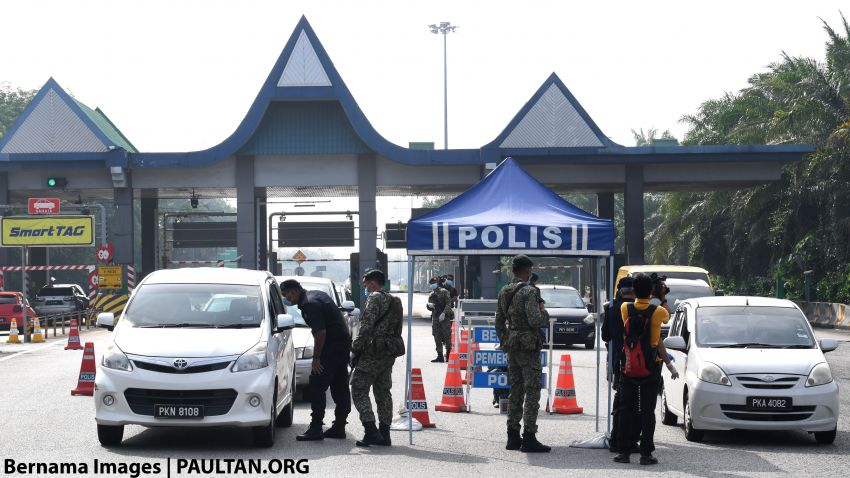 CMCO: Interstate travellers will now be fined, not just forced to U-turn; Raya travels will not be authorised Image #1121243