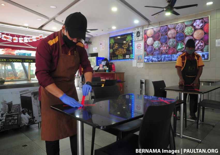 Selangor eases restrictions on CMCO – dine-in at eateries, food trucks and park activities now allowed Image #1116890