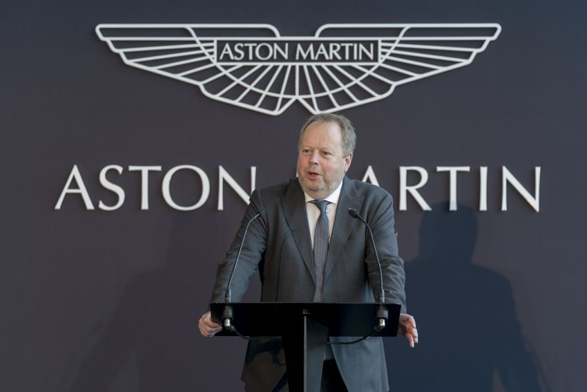 Aston Martin appoints ex-AMG boss Tobias Moers as new CEO from August 1 – Andy Palmer steps down Image #1122869