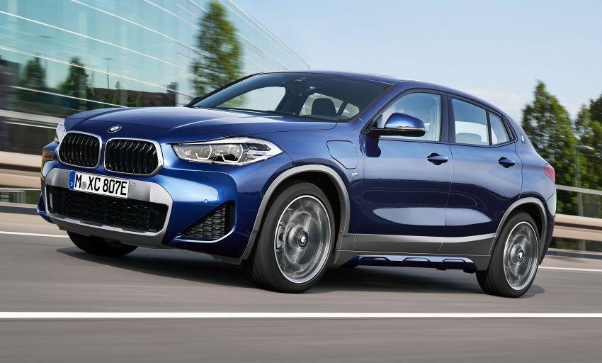 F39 BMW X2 xDrive25e plug-in hybrid – 57 km e-range Image #1122234