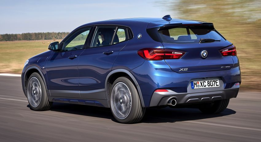 F39 BMW X2 xDrive25e plug-in hybrid – 57 km e-range Image #1122247