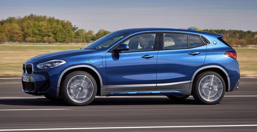 F39 BMW X2 xDrive25e plug-in hybrid – 57 km e-range Image #1122249
