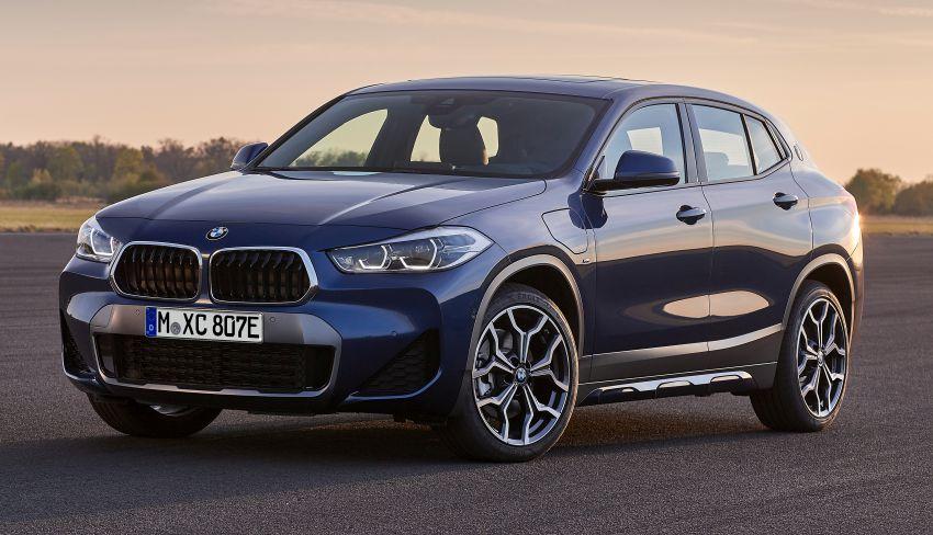 F39 BMW X2 xDrive25e plug-in hybrid – 57 km e-range Image #1122258