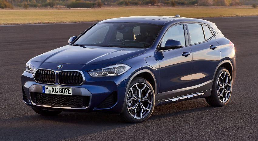 F39 BMW X2 xDrive25e plug-in hybrid – 57 km e-range Image #1122259