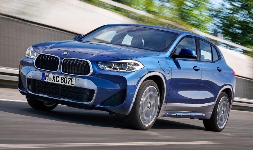 F39 BMW X2 xDrive25e plug-in hybrid – 57 km e-range Image #1122236