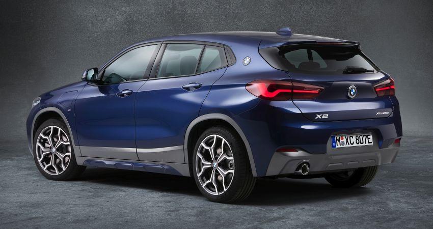 F39 BMW X2 xDrive25e plug-in hybrid – 57 km e-range Image #1122274