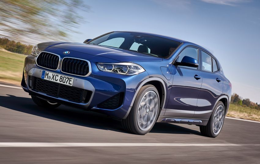 F39 BMW X2 xDrive25e plug-in hybrid – 57 km e-range Image #1122241