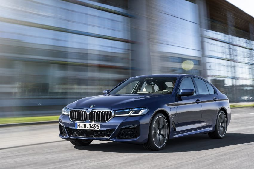 2021 BMW 5 Series facelift revealed – G30 LCI gets new looks, powertrains, 545e xDrive plug-in hybrid Image #1121838