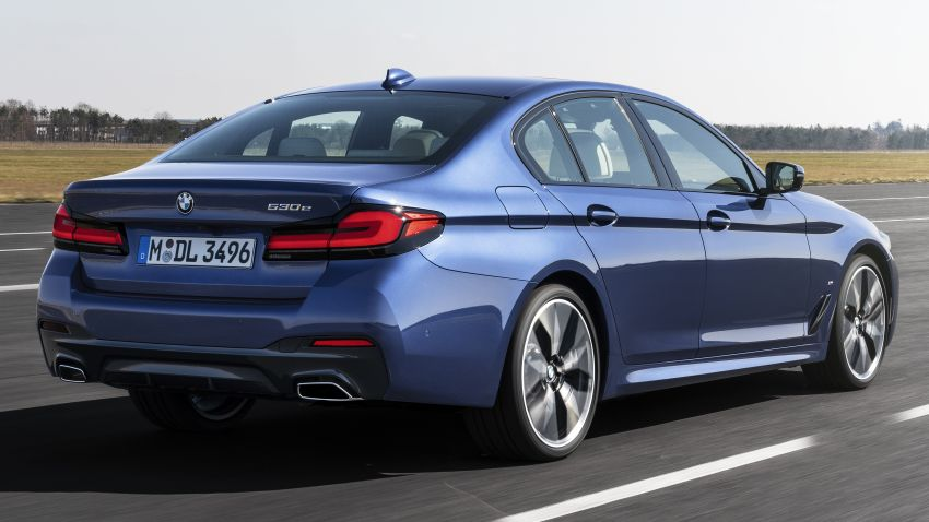 2021 BMW 5 Series facelift revealed – G30 LCI gets new looks, powertrains, 545e xDrive plug-in hybrid Image #1121848