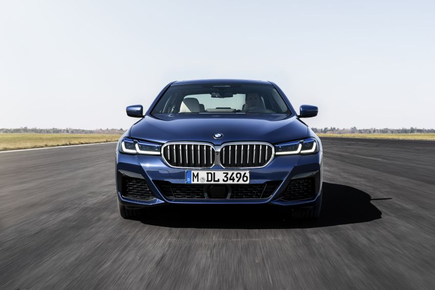 2021 BMW 5 Series facelift revealed – G30 LCI gets new looks, powertrains, 545e xDrive plug-in hybrid Image #1121850