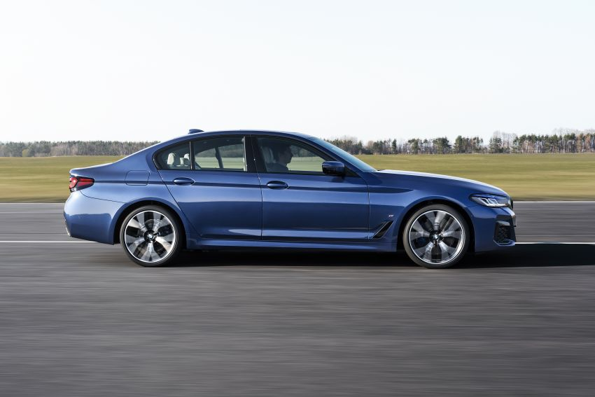 2021 BMW 5 Series facelift revealed – G30 LCI gets new looks, powertrains, 545e xDrive plug-in hybrid Image #1121851