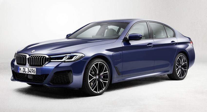 2021 BMW 5 Series facelift revealed – G30 LCI gets new looks, powertrains, 545e xDrive plug-in hybrid Image #1121856