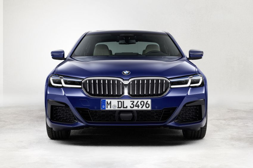 2021 BMW 5 Series facelift revealed – G30 LCI gets new looks, powertrains, 545e xDrive plug-in hybrid Image #1121861