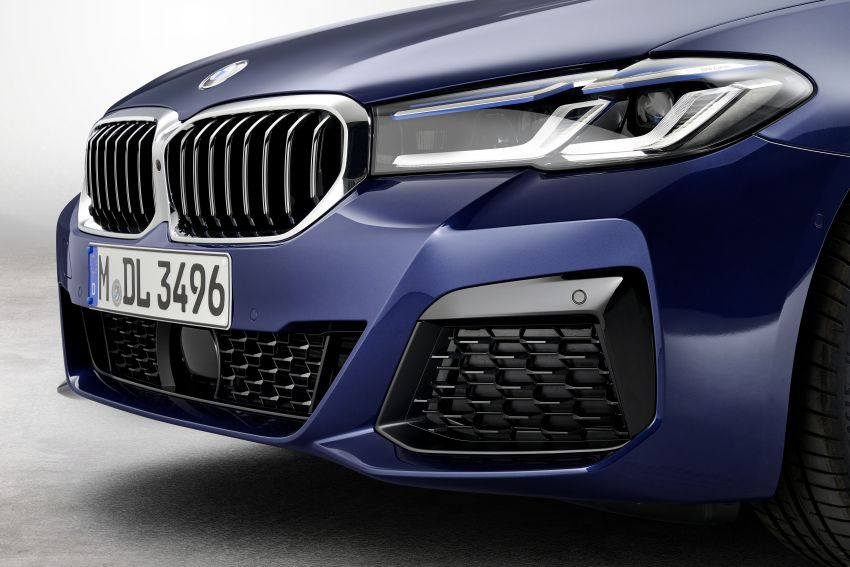 2021 BMW 5 Series facelift revealed – G30 LCI gets new looks, powertrains, 545e xDrive plug-in hybrid Image #1121863