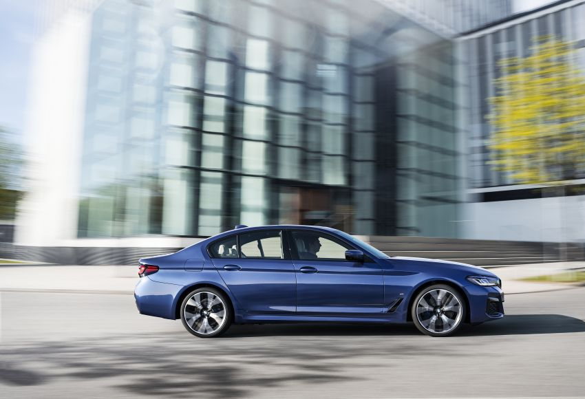 2021 BMW 5 Series facelift revealed – G30 LCI gets new looks, powertrains, 545e xDrive plug-in hybrid Image #1121840