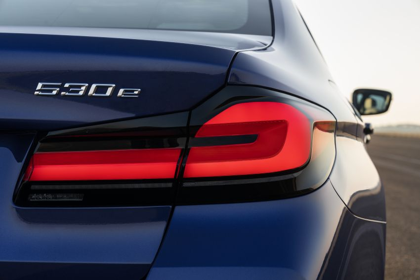 2021 BMW 5 Series facelift revealed – G30 LCI gets new looks, powertrains, 545e xDrive plug-in hybrid Image #1121843