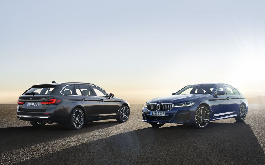 2021 bmw 5 series facelift revealed - g30 lci gets new