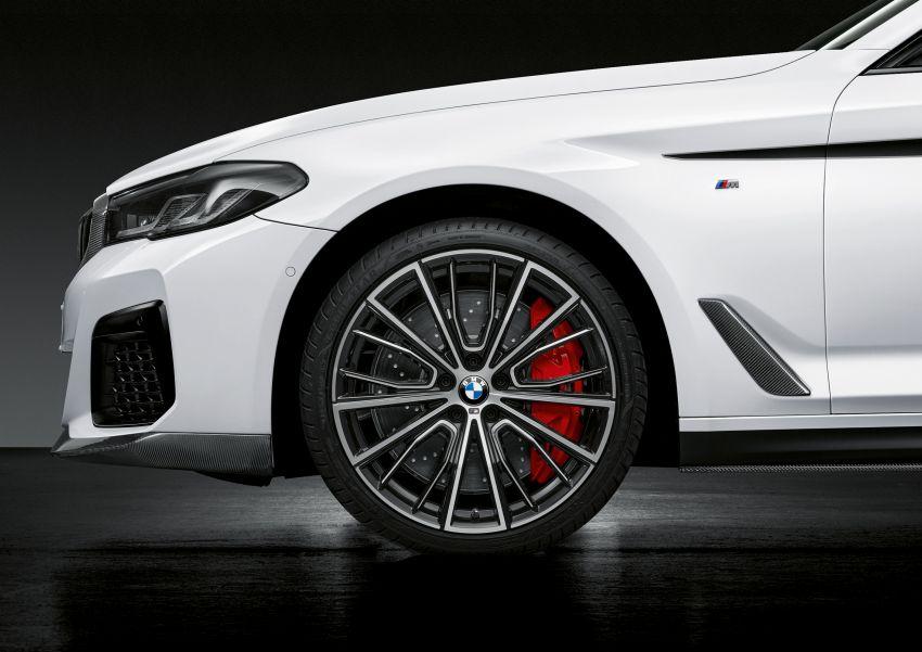 G30 BMW 5 Series LCI – M Performance parts revealed Image #1123292