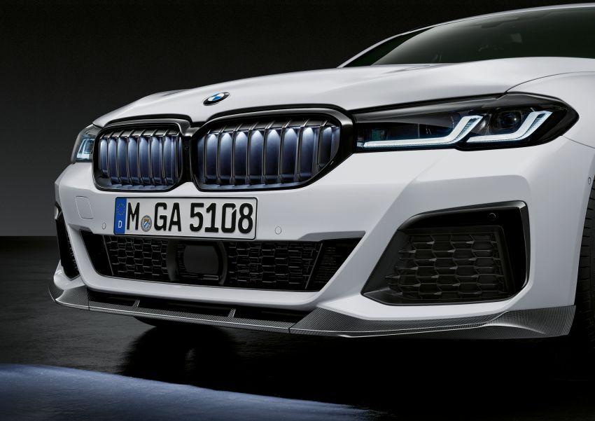 G30 BMW 5 Series LCI – M Performance parts revealed Image #1123296