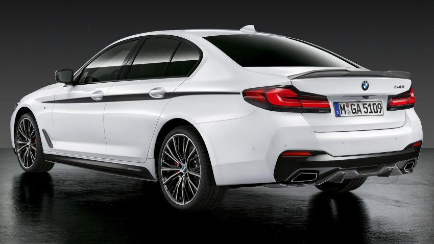 G30 BMW 5 Series LCI – M Performance parts revealed Image #1123280