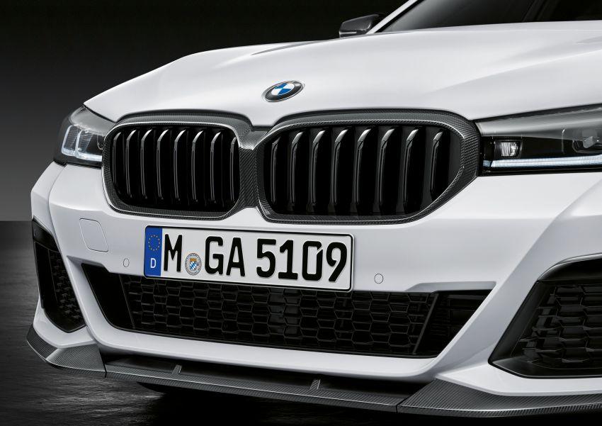 G30 BMW 5 Series LCI – M Performance parts revealed Image #1123281