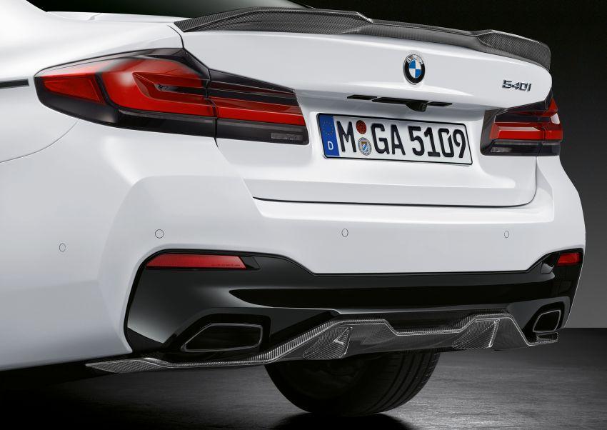 G30 BMW 5 Series LCI – M Performance parts revealed Image #1123282
