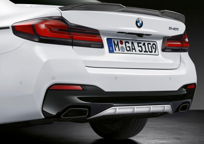 G30 BMW 5 Series LCI – M Performance parts revealed Image #1123283