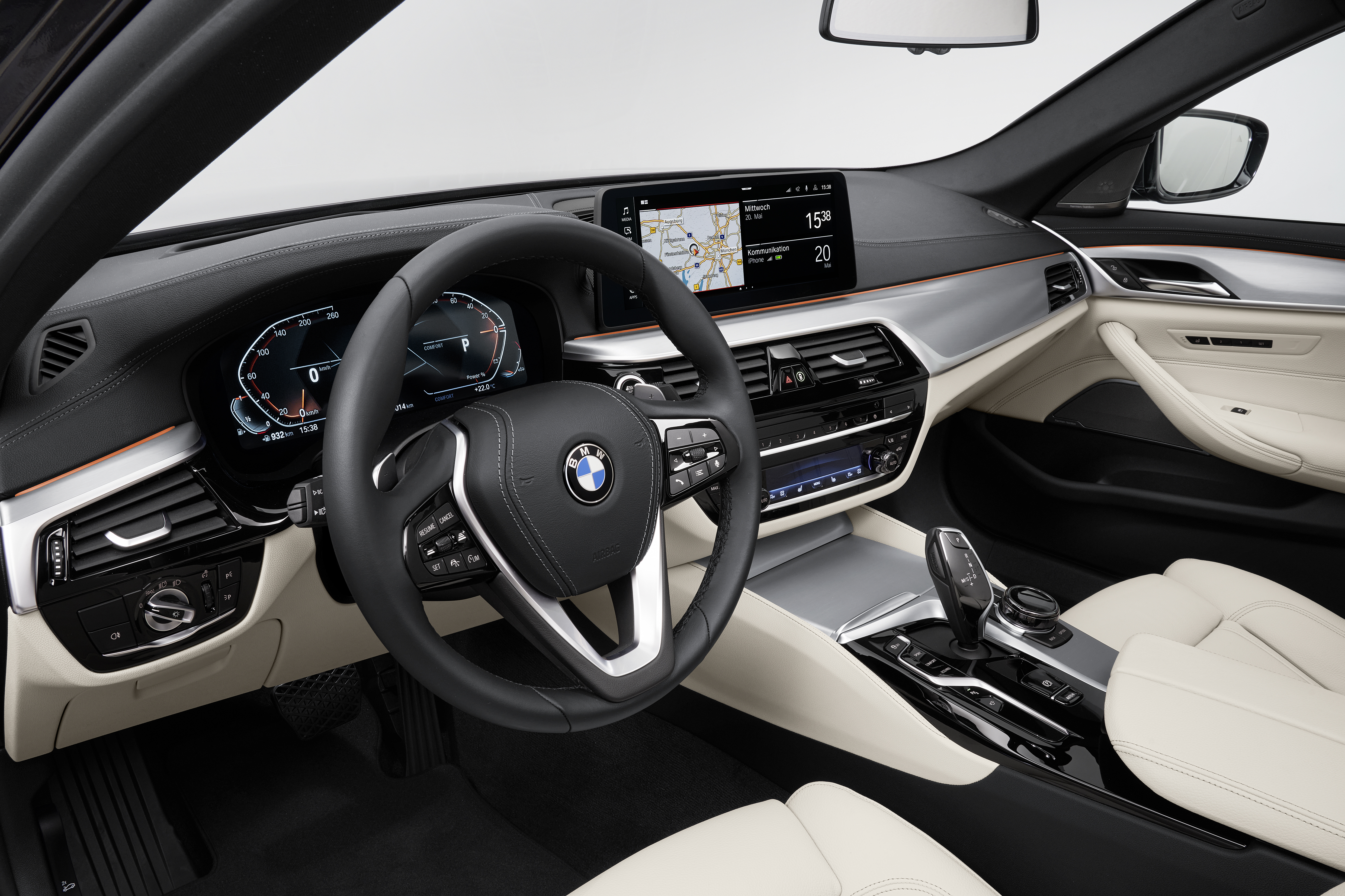 2021 BMW 5 Series facelift revealed - G30 LCI gets new ...
