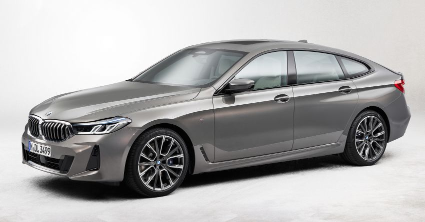 G32 BMW 6 Series Gran Turismo LCI debuts – updated styling, mild hybrid engines, revised list of equipment Image #1121915