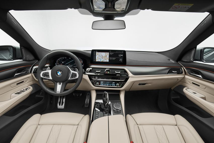 G32 BMW 6 Series Gran Turismo LCI debuts – updated styling, mild hybrid engines, revised list of equipment Image #1121925