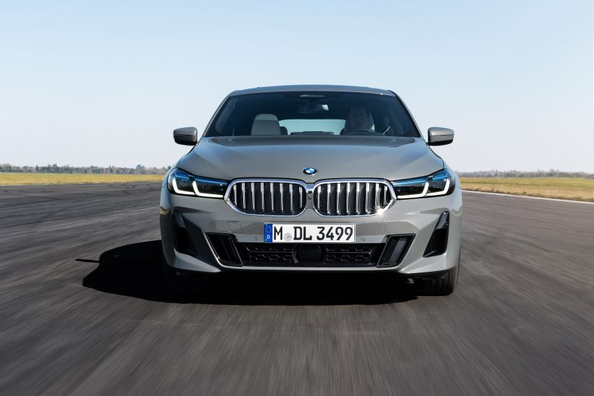 G32 BMW 6 Series Gran Turismo LCI debuts – updated styling, mild hybrid engines, revised list of equipment Image #1121929