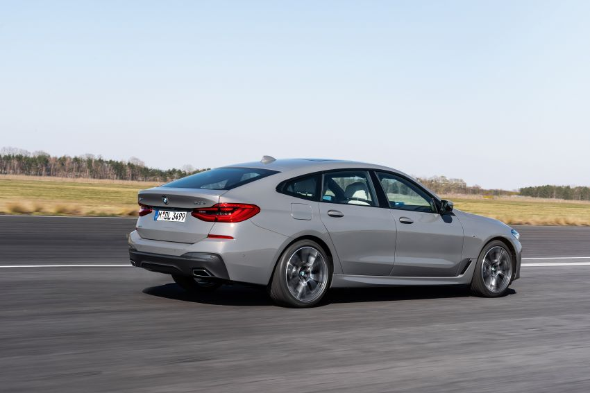 G32 BMW 6 Series Gran Turismo LCI debuts – updated styling, mild hybrid engines, revised list of equipment Image #1121930