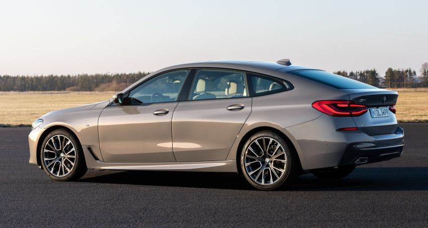 G32 BMW 6 Series Gran Turismo LCI debuts – updated styling, mild hybrid engines, revised list of equipment Image #1121933