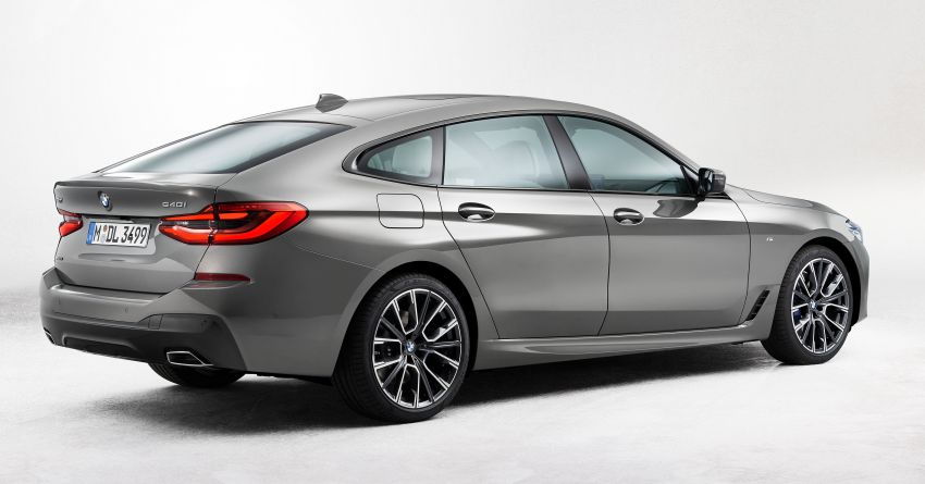 G32 BMW 6 Series Gran Turismo LCI debuts – updated styling, mild hybrid engines, revised list of equipment Image #1121916