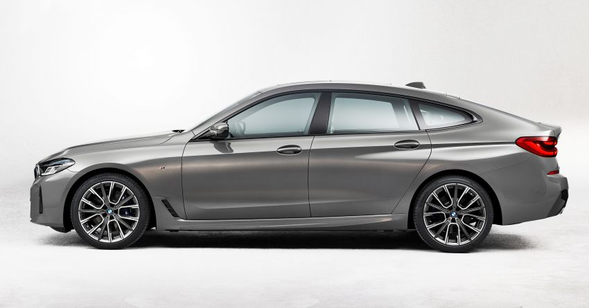 G32 BMW 6 Series Gran Turismo LCI debuts – updated styling, mild hybrid engines, revised list of equipment Image #1121917