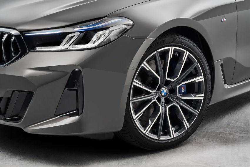 G32 BMW 6 Series Gran Turismo LCI debuts – updated styling, mild hybrid engines, revised list of equipment Image #1121921