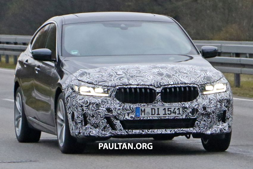 G32 BMW 6 Series GT LCI teased, debuts with 5 Series Image #1120702